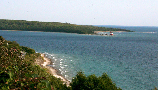 Mackinac Island scenic view