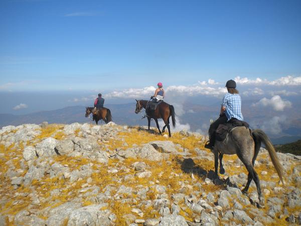 madonie mountains sicily on horseback