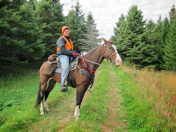 maine horseback riding hunting season