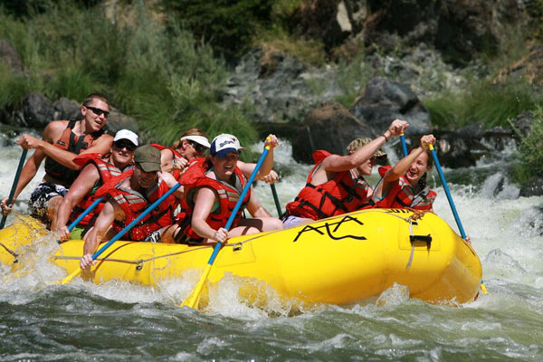 Marble Mountain White Water Rafting