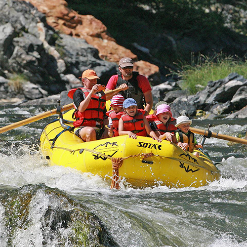 Marble Mountain Ranch rafting