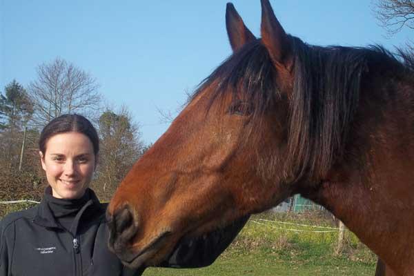 caroline and horse