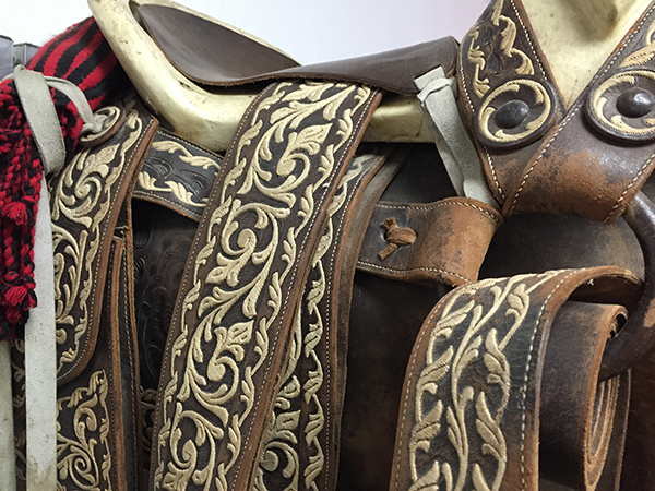 mexico charro saddle