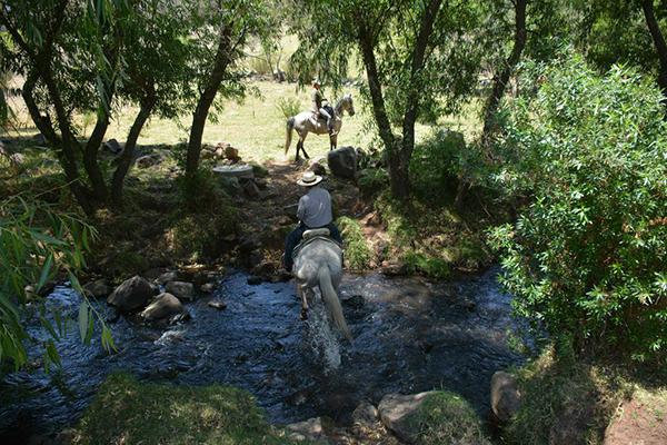 mexico horseback travel rancho las cascadas
