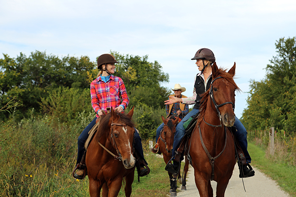 Midewin horse riding Illinois Will County Trail Riders Darley Newman