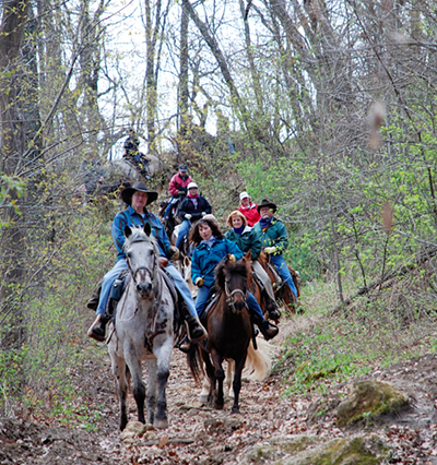 Minnesota Zumbro Bottoms horseback