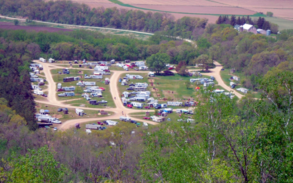 Minnesota horse camping