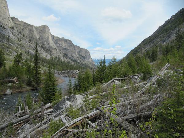blogdett canyon wilderness montana