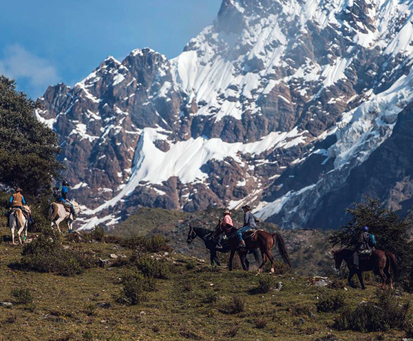 Mountain Lodges of Peru horseback riding
