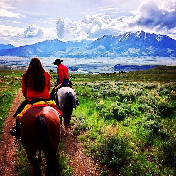 Mountain Sky Ranch Horseback Ride Adventure
