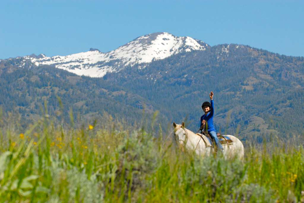 mountain sky guest ranch horseback