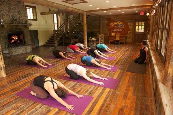 mountain sky guest ranch yoga