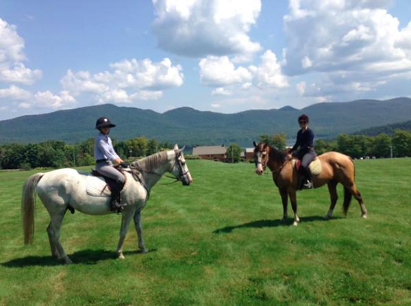 mountain top inn horseback riding