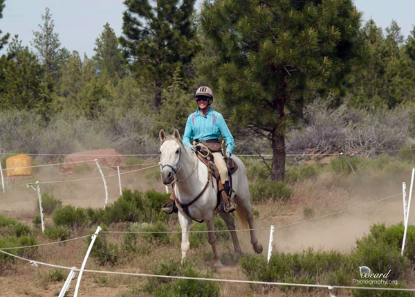 Desejo and I on the course, photo courtesy of Richard Beard Photography