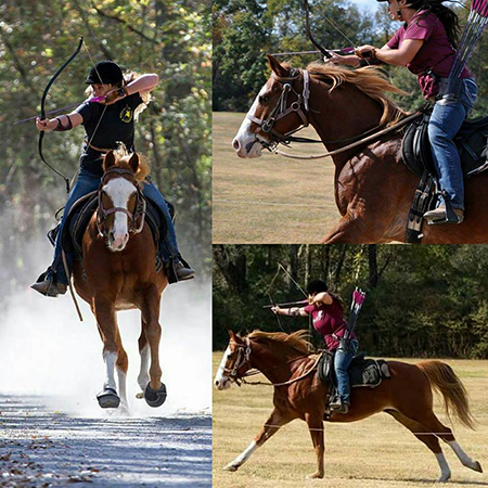 mounted archery with elizabeth tinnan