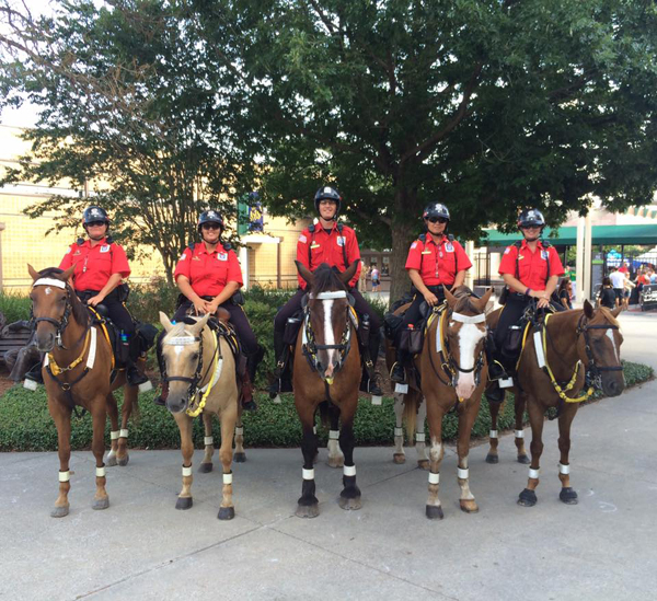 Alpha and Omega Mounted Patrol Troopers