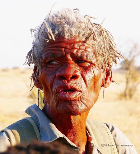 mr cobra of the san bushman botswana