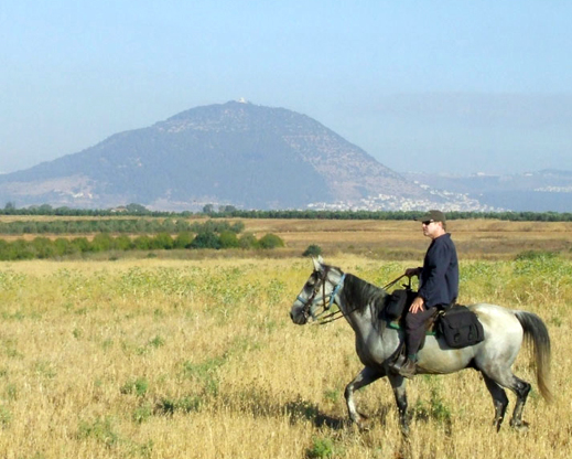 mt tabor horseback riding israel