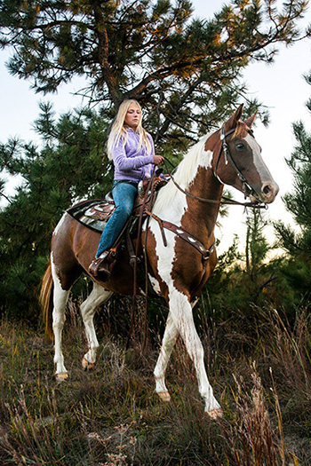 Nebraska National Forest Horseback Riding