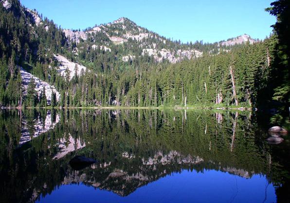 Northbound Lake Idaho