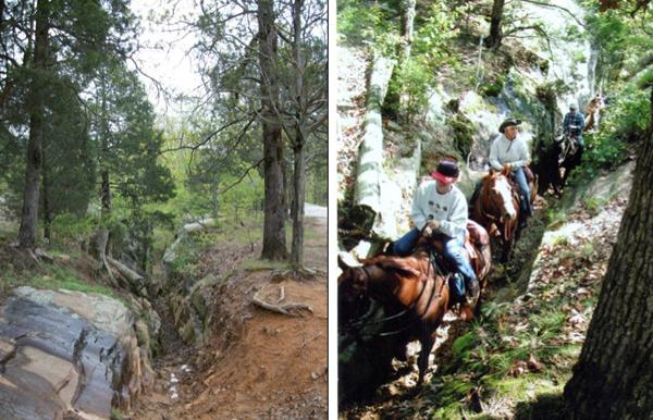 one horse gap trail