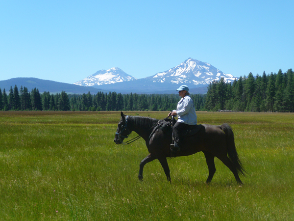oregon equestrian trails glaze meadows and the sisters