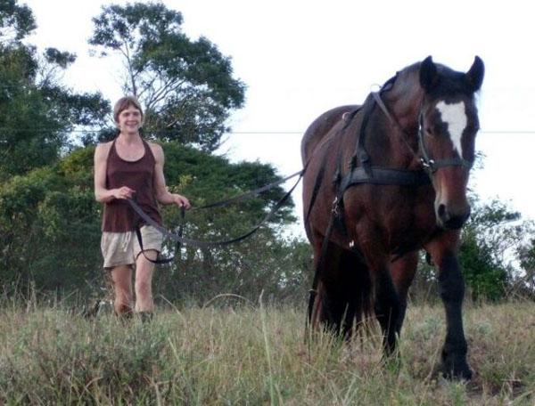 Peas on Earth Voluntourism Natural Horsemanship