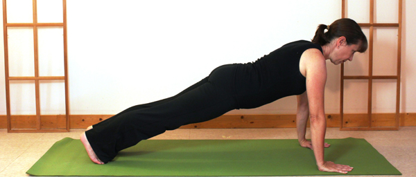Yoga for Equestrians Plank Pose