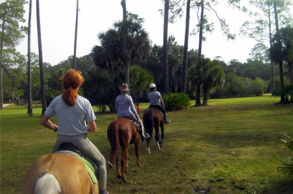 princess place preserve horseback riding equitrekking