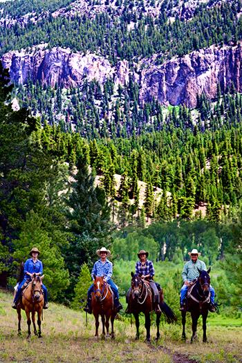 Rainbow Trout Ranch Colorado Rockies