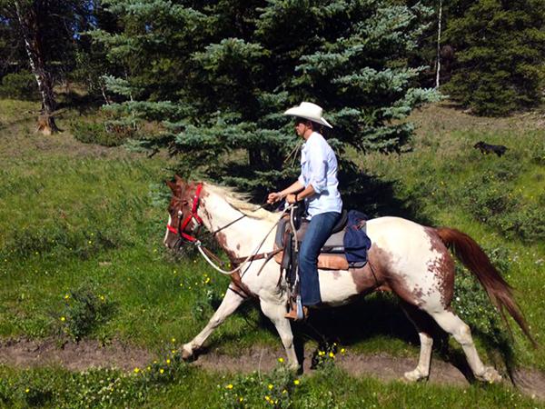 Rainbow Trout Ranch horseback