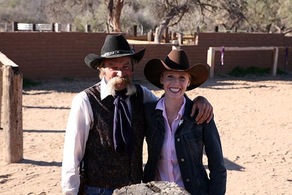 Darley Newman Rancho de la Osa Equitrekking Arizona