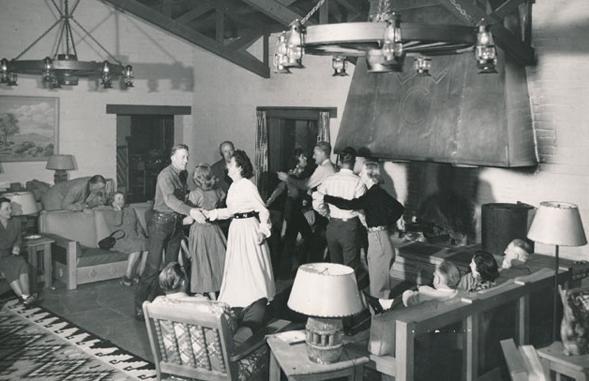 rancho de los caballeros history