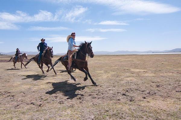rancho las cascadas mexico canter and gallop on horseback