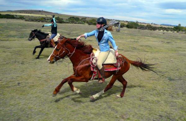rancho las cascadas horseback mexico
