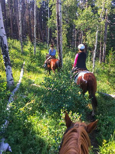 horseback riding Rawah Ranch Colorado