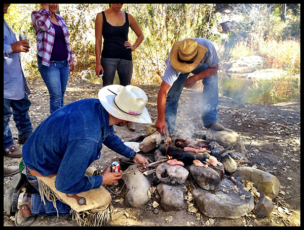real cowboys cooking