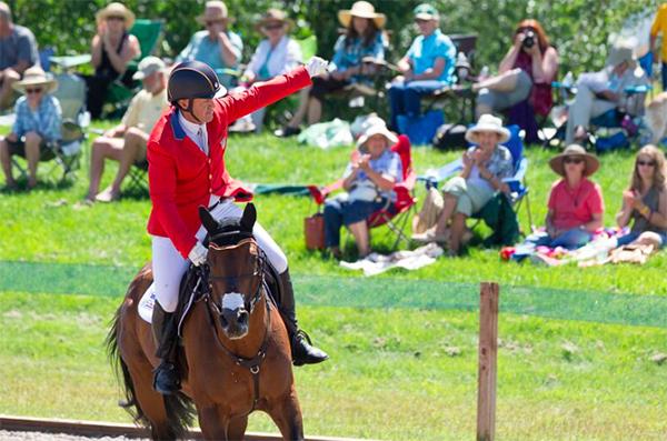 Rebecca Farm Event Horses Montana