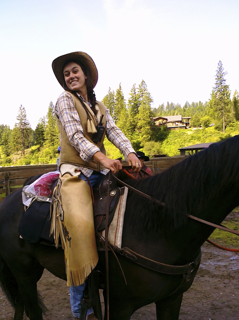 Red Horse Mountain Ranch Cowgirl