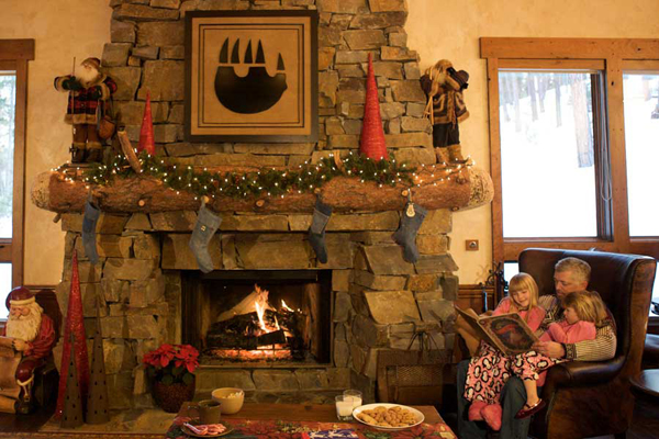 Resort at Paws Up Fireside Hearth