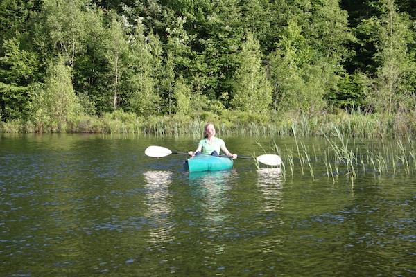 mountain top inn kayaking
