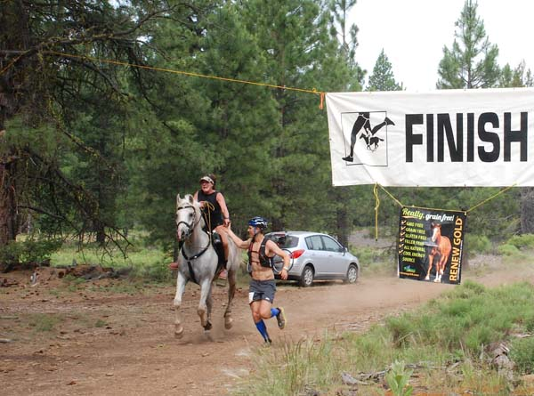 Ride and Tie Finish Line