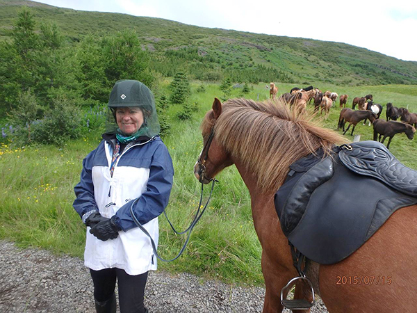julie riding iceland equitrekking travel