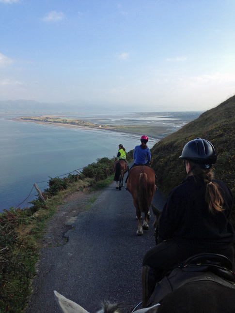Horseback Riding Rossbeigh Beach