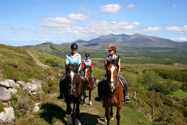 Ring of Kerry horse riding vacation
