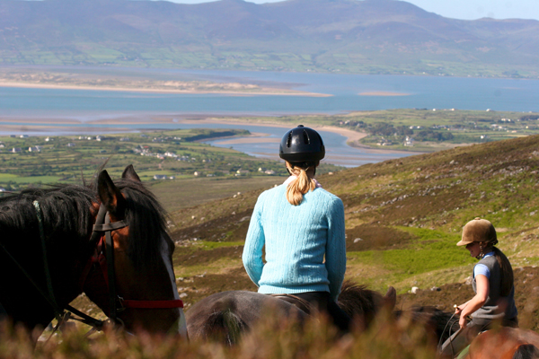 Killarney horse riding vacations