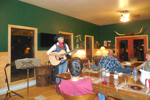 hideout ranch live music