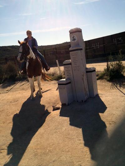 san dieogo pacific crest trail horseback riding