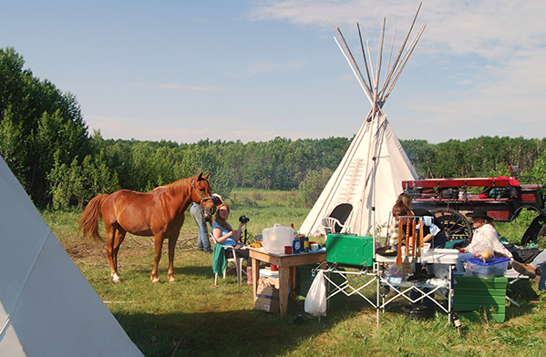 Saskatchewan wilderness horse riding canada