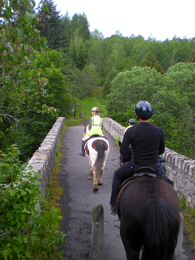 Highlands horse riding